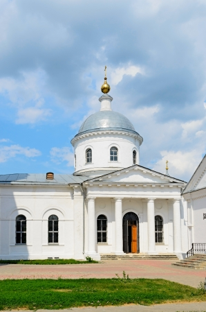 Cathedral complex of the town of Bronnitsy, 1705 year, Russia.