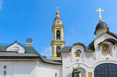 Church of Michael the Archangel of the village Mihailovskaya Sloboda, Russia.