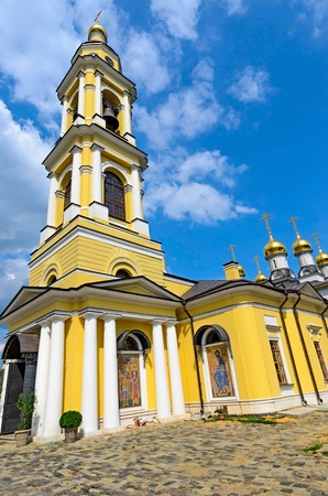 Church of Michael the Archangel of the village Mihailovskaya Sloboda, Russia. photo