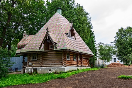 Estate of Abramtsevo, Moscow region, Russia, founded in the 16th century.