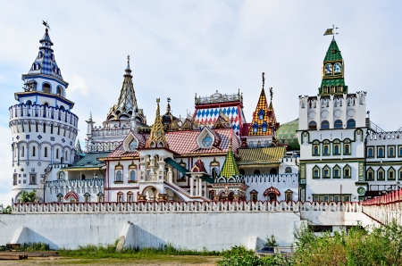 Izmailovo Kremlin, located near the Izmailovo estate, founded in the 16th century.