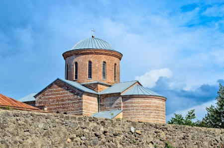 patriarchal: Patriarchal Cathedral in Pitsunda, Abkhazia, founded in the middle of the 10th century. Stock Photo