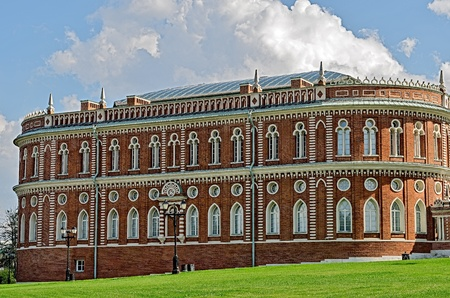 the tsaritsyno: Estate of Tsaritsyno, Moscow, Russia, founded in the early 16th century. Editorial