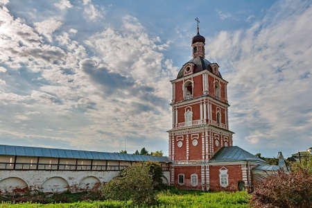 The Golden ring of Russia, Goritsky monastery, founded in the 14th century, the town of Pereslavl-Zalessky. Stock Photo