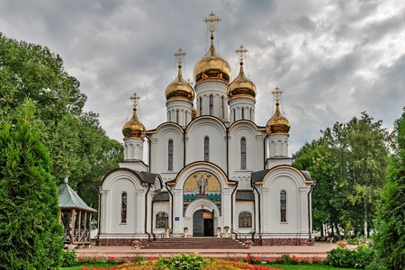 The Golden ring of Russia, convent of St. Nicholas, founded in 1350, the town of Pereslavl-Zalessky.