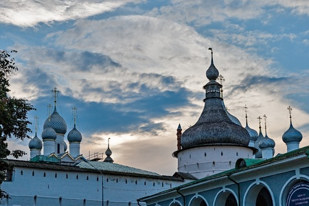 The Golden ring of Russia, Rostov Kremlin, founded in the 12th century, the city of Rostov Veliky.