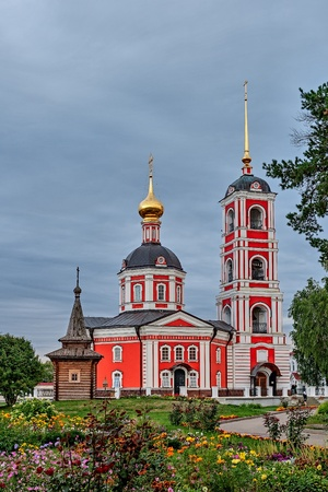 veliky: The Golden ring of Russia, a monastery of the Trinity-Sergiev Varnitsky, founded in 1427, city of Rostov Veliky.