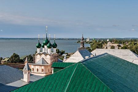 veliky: The Golden ring of Russia, Rostov Kremlin, founded in the 12th century, the city of Rostov Veliky.