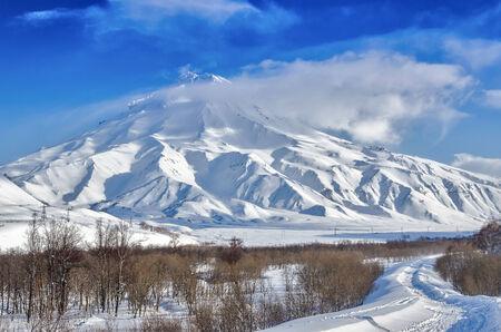 kamchatka: Freeride on the volcanoes of Kamchatka, Russia.