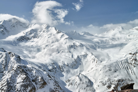 elbrus: The Central Caucasus, the surroundings of the highest mountain in Europe - Elbrus and Cheget.