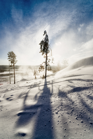 Ski resort Sun valley Russia, the Ural, the Miass.