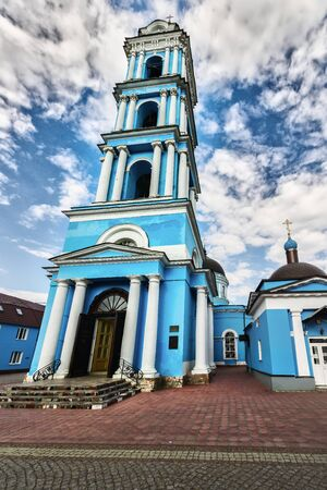 Church architecture of the city of Noginsk, Moscow oblast, Russia. Stock Photo