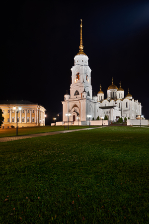 The city of Vladimir, the ancient capital of northeast Russia. Editorial