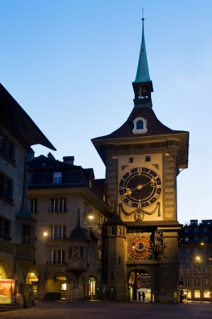 13th: The Zytglogge clock tower  early 13th century  in Bern