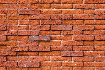 paredes de ladrillos: Pared de ladrillo rojo Foto de archivo