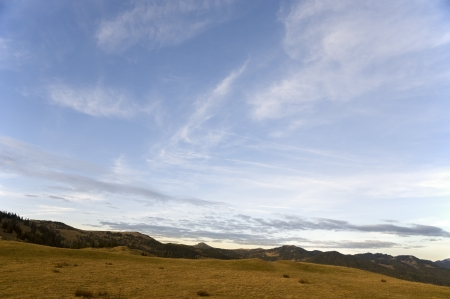 uncultivated: Autumn cloudscape in the alps