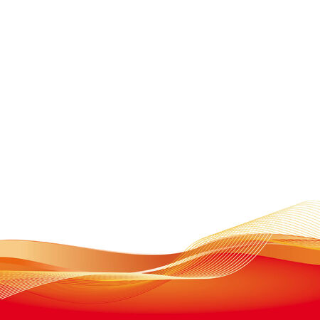 Abstract red background. Simple and clear. Space left open for your text or artwork.