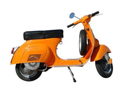 vespa: Orange Vespa