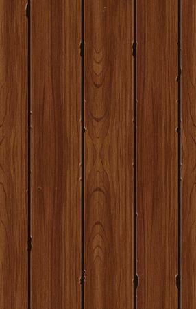 Illustration of a Seamless Wood Pattern Tile Stock Photo