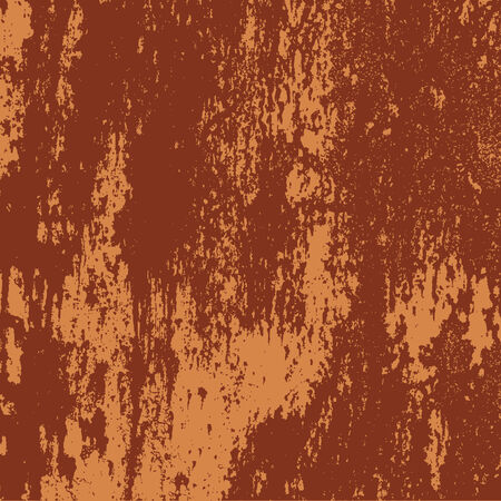 Vector detail of a rusty grunge metal texture Illustration