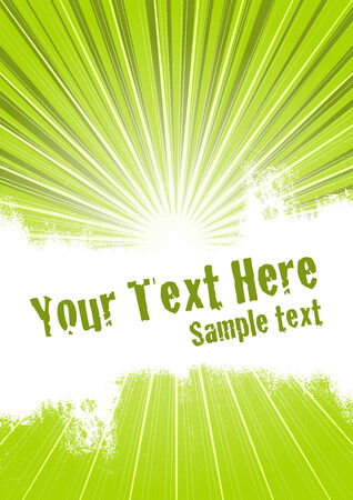 Vector grunge background with copy space for your text Vector