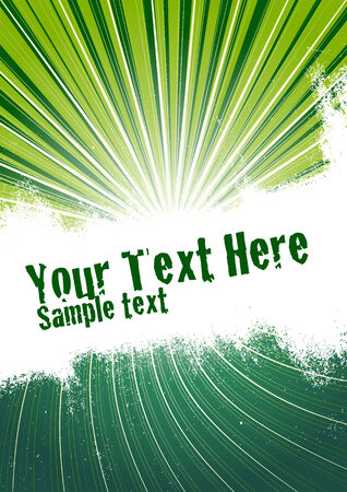 Vector grunge background with copy space for your text. Global Swatches Included. Stock Vector - 4684332