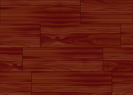 Illustration of a wood parquet floor pattern tile. Global swatches included, easy to change colors. Vector
