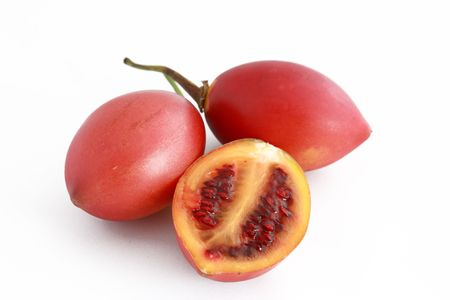tamarillo: Photo of Solanum Betaceum, also known as Tamarillo.