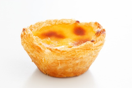 nata: Typical Portuguese custard pies   Pastel de Nata  or  Pastel de Belem