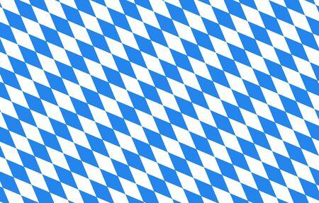 バイエルン ダイヤモンド ブルー背景オクトーバーフェスト