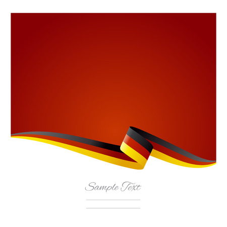 Abstract color background German flag