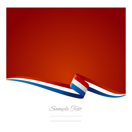 Abstract color background French flag Vector