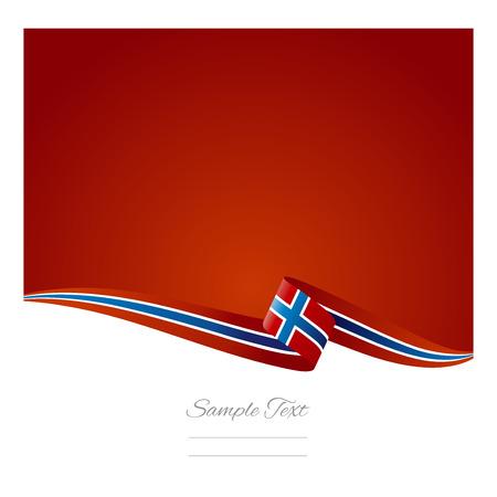 Abstracte kleur achtergrond vlag van Noorwegen Stock Illustratie
