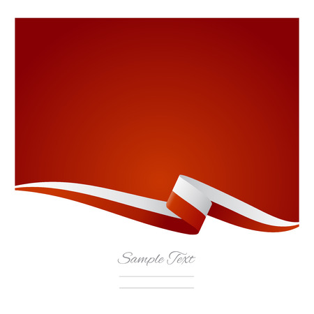 poland flag: Abstract color background Polish flag