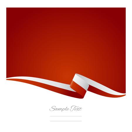 polish flag: Abstract color background Polish flag