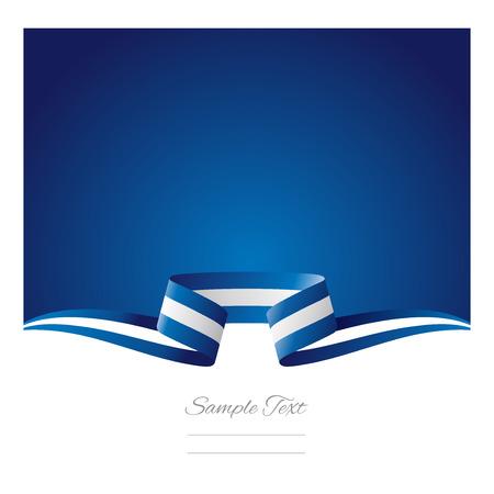 Abstrakten Hintergrund der griechischen Flagge Band Standard-Bild - 30794029