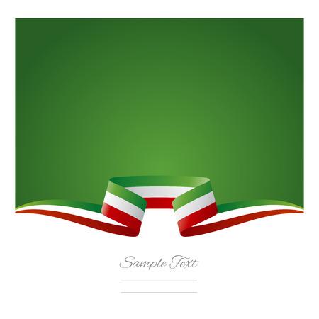 weihnachtsschleife: Abstrakten Hintergrund mexikanischen Flagge Band Illustration