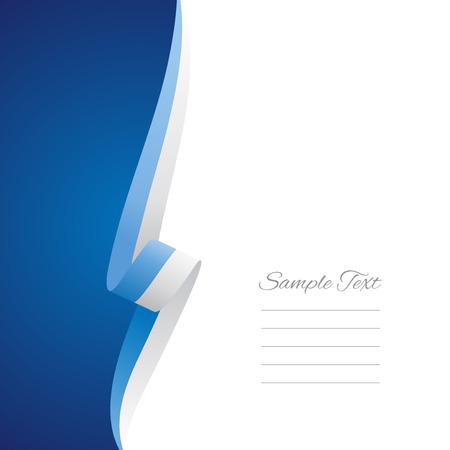 sammarinese: San Marino lato sinistro copertina brochure vettore