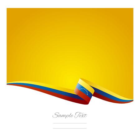 venezuelan: Abstract color background Venezuelan flag vector