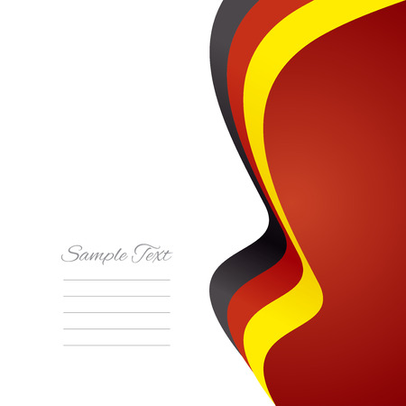 german mark: German right flag ribbon