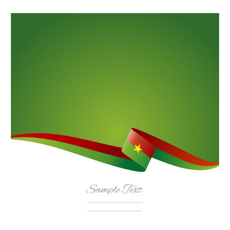 burkina faso: Abstract color background of Burkina Faso flag
