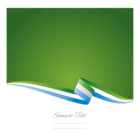 sierra: Abstract color background of Sierra Leone flag