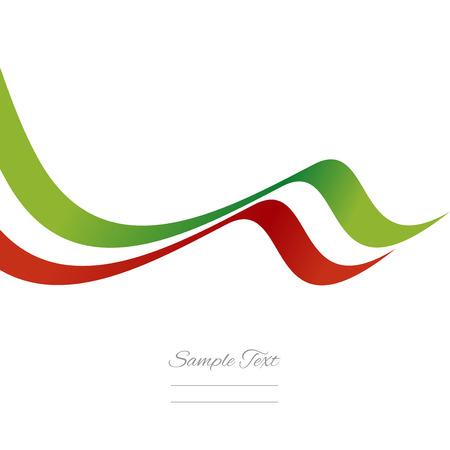 drapeau mexicain: Résumé vecteur de ruban mexicaine