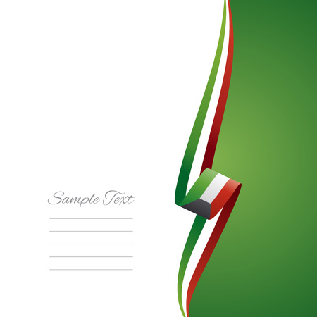 クウェートの右側にあるパンフレットの表紙  イラスト・ベクター素材