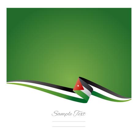 Abstract color background Jordan flag Çizim