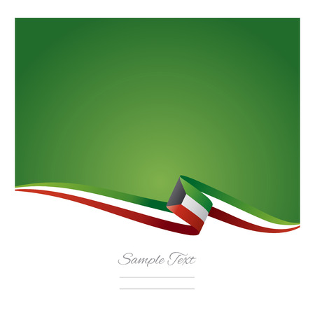 flags: Abstract color background Kuwait flag