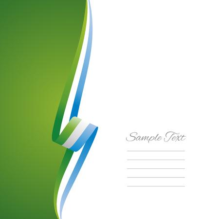 Sierra Leone left side brochure cover