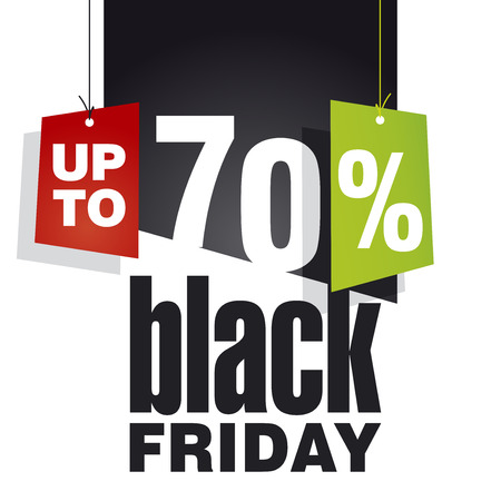 trade off: Black friday Sale up to 70 percent off black background