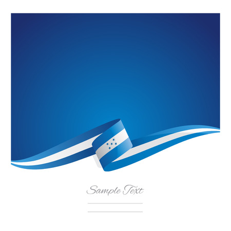 bandera honduras: Nueva cinta de la bandera abstracta Honduras