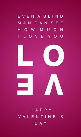 mobile internet: How much I Love You white letters pink background